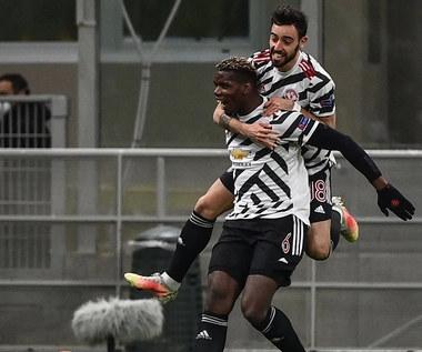 Liga Europy. AC Milan - Manchester United 0-1. Wejście smoka Pogby. Wideo