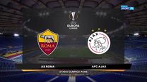 Liga Europy. AS Roma - Ajax Amsterdam 1-1. Skrót meczu (POLSAT SPORT). Wideo
