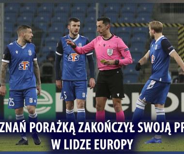 Liga Europy. Lech Poznań - Rangers FC 0-2 - skrót (POLSAT SPORT). WIDEO