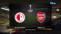 Liga Europy. Slavia Praga - Arsenal Londyn 0-4. Skrót meczu (POLSAT SPORT). Wideo