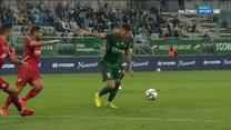Liga Konferencji. Piękny gol dla Śląska (POLSAT SPORT) Wideo
