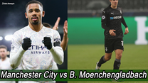 Liga Mistrzów. 1/8 finału ligi mistrzów: B. Moenchengladbach-Manchester City 0:2. Wszystkie bramki. Wideo