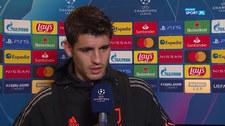 Liga Mistrzów. Alvaro Morata: Murawa nie może być wymówką, bo jesteśmy piłkarzami Juventusu. Wideo