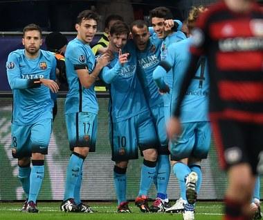 Liga Mistrzów: Bayer Leverkusen - FC Barcelona 1-1
