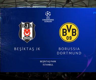 Liga Mistrzów. Borussia Dortmund pokonała na wyjeździe 2-1 turecki Besiktas JK. Skrót meczu. Wideo (POLSAT SPORT)