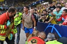 Liga Mistrzów. Cristiano Ronaldo... znokautował stewarda