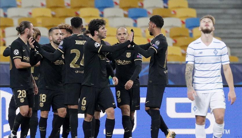 Liga Mistrzów. Dynamo Kijów - FC Barcelona 0-4 w 4. kolejce fazy grupowej