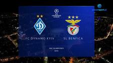 Liga Mistrzów. Dynamo Kijów - SL Benfica. 0-0. Skrót meczu (POLSAT SPORT) Wideo