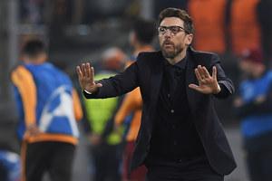 Liga Mistrzów. Eusebio Di Francesco zwolniony z AS Roma