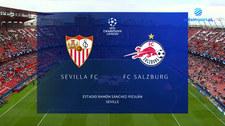 Liga Mistrzów. FC Sevilla - Red Bull Salzburg. 1-1. Skrót meczu (POLSAT SPORT) Wideo