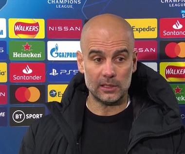 Liga Mistrzów. Guardiola: W pierwszej połowie nie byliśmy wystarczająco sprytni (POLSAT SPORT). Wideo