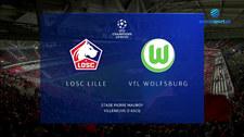 Liga Mistrzów. LOSC Lille - VfL Wolfsburg 0-0. Skrót meczu (POLSAT SPORT). Wideo