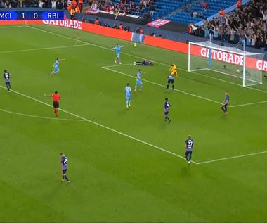Liga Mistrzów. Manchester City - RB Lipsk. Skrót meczu. Wideo (POLSAT SPORT)