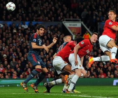 Liga Mistrzów: Manchester United - Bayern 1-1