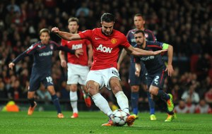 Liga Mistrzów: Manchester United - Olympiakos Pireus 3-0