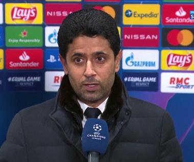 Liga Mistrzów. Nasser Al-Khelaifi: Przed nami jeszcze wiele pracy (POLSAT SPORT). Wideo
