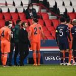 Liga Mistrzów: PSG - Istanbul Basaksehir. Mecz przerwany, zostanie dokończony w środę