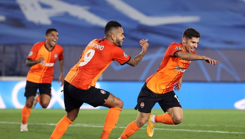 Liga Mistrzów. Real Madryt - Szachtar Donieck 2-3 w grupie B