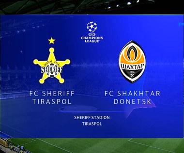 Liga Mistrzów. Sheriff Tiraspol - Szachtar Donieck 2-0. Skrót meczu (POLSAT SPORT)