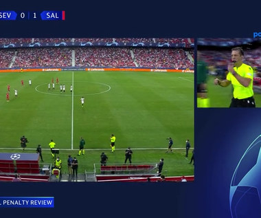 Liga Mistrzów. System VAR bezlitosny. 4 rzuty karne w pierwszej połowie Red Bull Salzburg - Sevilla FC (POLSAT SPORT) Wideo