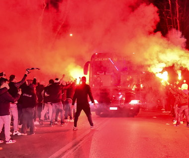 Liga Mistrzów. Tysiące kibiców przed stadionem w Bergamo
