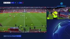 Liga Mistrzów. Var bezlitosny. 4 rzuty karne w pierwszej połowie Red Bull Salzburg - Sevilla FC (POLSAT SPORT) Wideo