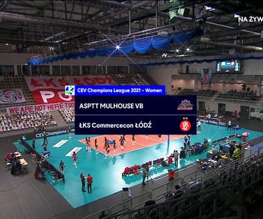Liga Mistrzyń. ASPTT Mulhouse – ŁKS Commercecon Łódź 1-3. Skrót meczu (POLSAT SPORT). Wideo