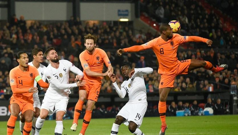 Liga Narodów: Holandia - Francja 2-0 w meczu 5. kolejki