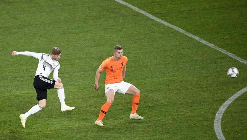 """Liga Narodów. Niemcy - Holandia 2-2. Awans """"Pomarańczowych""""!"""