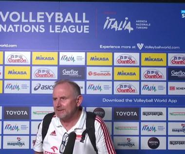 Liga Narodów siatkarek. Jacek Nawrocki: To było niezłe spotkanie w naszym wykonaniu (POLSAT SPORT). Wideo