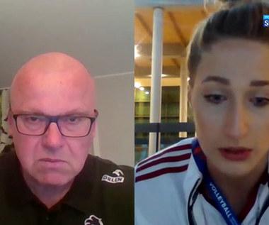 Liga Narodów Siatkarek. Klaudia Alagierska: Mecz z Holandią to był nasz najlepszy występ. (POLSAT SPORT). Wideo