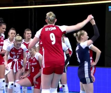 Liga Narodów siatkarek. Maria Stenzel i Magdalena Stysiak zatańczyły do piosenki Zenka Martyniuka (POLSAT SPORT). Wideo