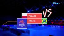 Liga Narodów siatkarek. Polska – Brazylia 0:3. Skrót meczu (POLSAT SPORT). Wideo