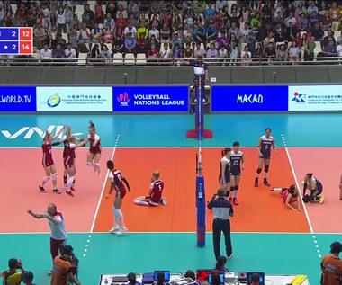 Liga Narodów siatkarek: Polska - Chiny 3:2. Wideo