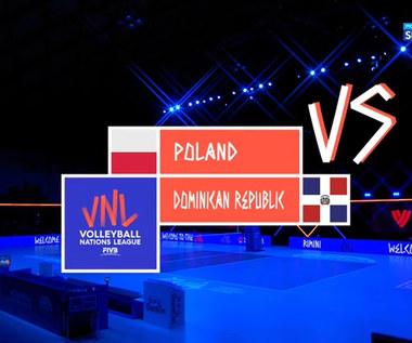 Liga Narodów Siatkarek. Polska - Dominikana 1:3. Skrót meczu