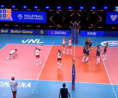 Liga Narodów siatkarek. Polska - Holandia 2:3 - skrót meczu (POLSAT SPORT). WIDEO
