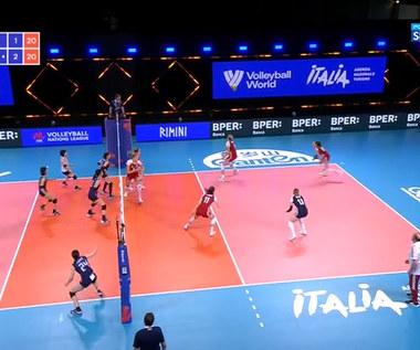 Liga Narodów siatkarek. Polska - Japonia 2:3 - skrót. WIDEO (Polsat Sport)
