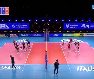 Liga Narodów siatkarek. Polska - Niemcy 0:3 - skrót. WIDEO (POLSAT SPORT)