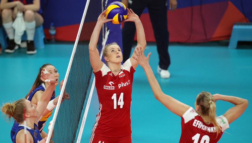 Liga Narodów siatkarek: Polska - Włochy 2:3
