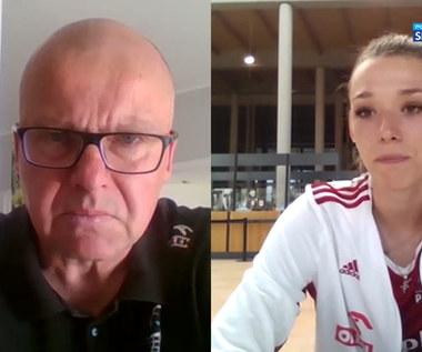 Liga Narodów siatkarek. Zuzanna Górecka: Nasza gra wyglądała dobrze. Wideo (POLSAT SPORT)