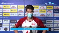 Liga Narodów siatkarzy. Aleksander Śliwka: Czujemy respekt do rywali, ale znamy swoją wartość (POLSAT SPORT) Wideo