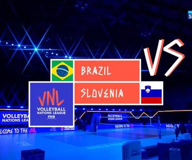 Liga Narodów siatkarzy. Brazylia - Słowenia 3:2. Skrót meczu (POLSAT SPORT) Wideo