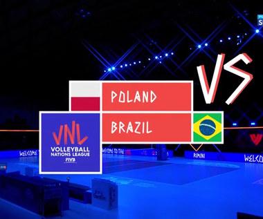Liga Narodów siatkarzy. Polska - Brazylia 0:3. Skrót meczu (POLSAT SPORT) Wideo