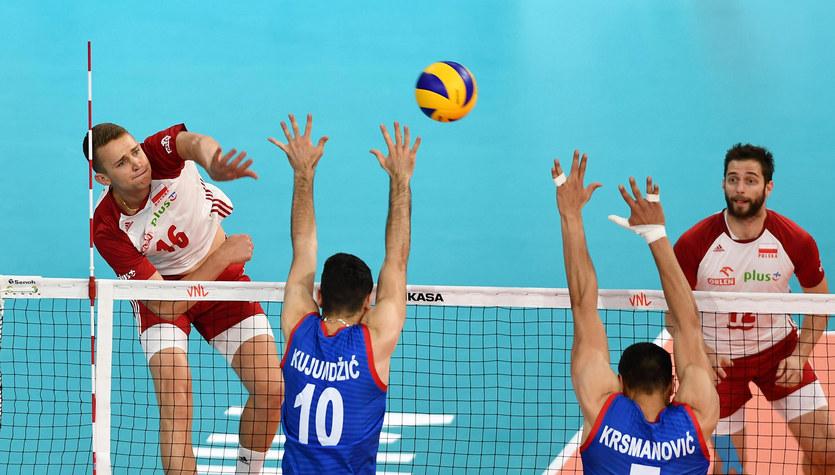 Liga Narodów siatkarzy. Polska - Serbia 3:2