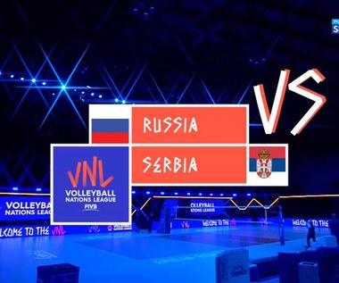 Liga Narodów siatkarzy. Rosja - Serbia 3:1. Skrót meczu (POLSAT SPORT) Wideo