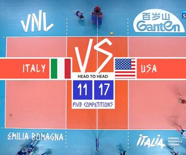 Liga Narodów siatkarzy. Włochy - USA 0:3. Skrót meczu (POLSAT SPORT) Wideo