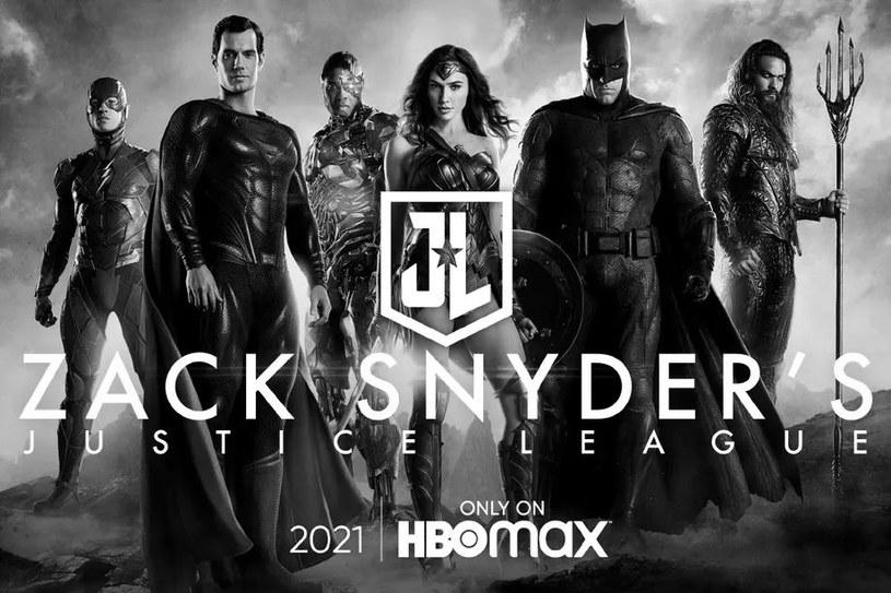 Ligia Sprawiedliwości - wersja o nazwie Snyder Cut - trafi do HBO Max w 2021 roku /materiały prasowe