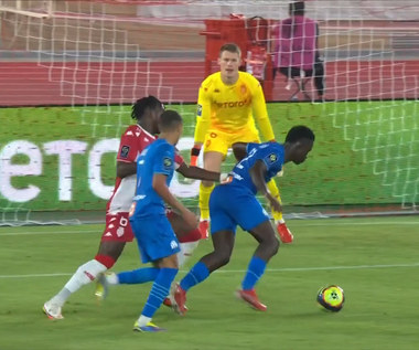 Ligue 1. AS Monaco - Olympique Marsylia 0-2 - SKRÓT. WIDEO (Eleven Sports)