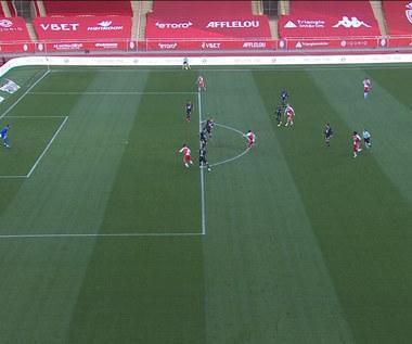 Ligue 1. Monaco - Lille 0-0 skrót meczu (EWLEVEN SPORT). Wideo