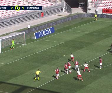 Ligue 1. OGC Nice - AS Monaco 2-2 - SKRÓT. WIDEO (Eleven Sports)